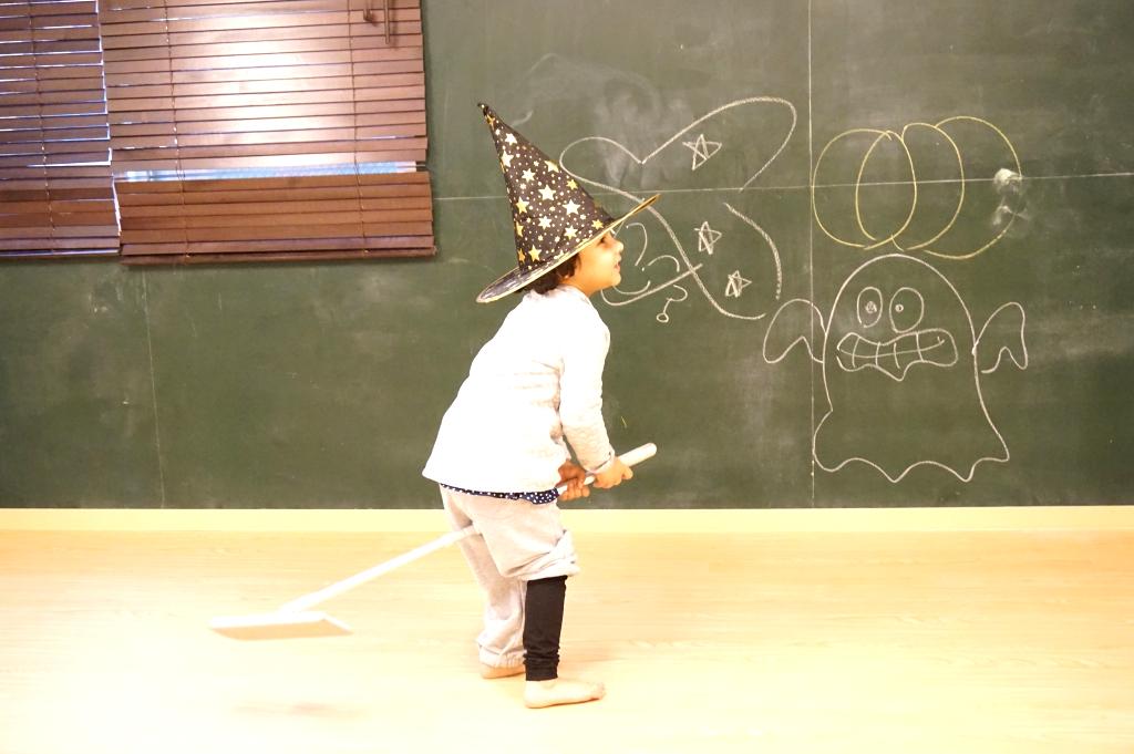 ジョイキッズには年に一度Witchが訪ねてきます。