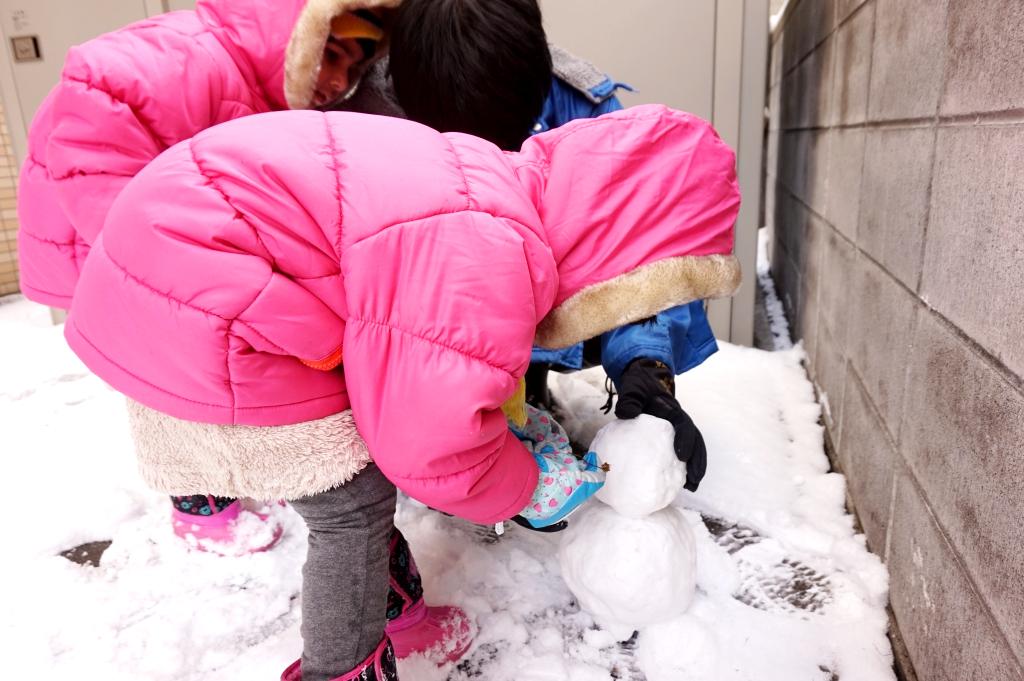 雪だるま(Snowman)を作ろう!