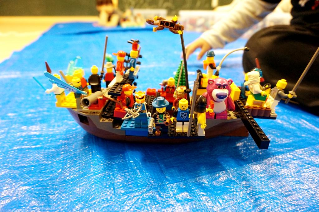 これはハイクォリティな作品ですね。海賊船かな!?