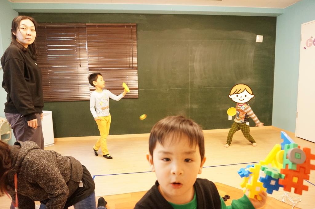 自由時間ではキャッチボールも出来ます^_^