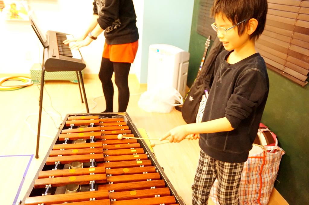 木琴担当!