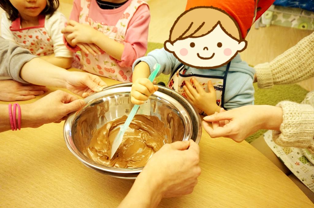 そう!チョコレートを溶かす日!(勘違い)