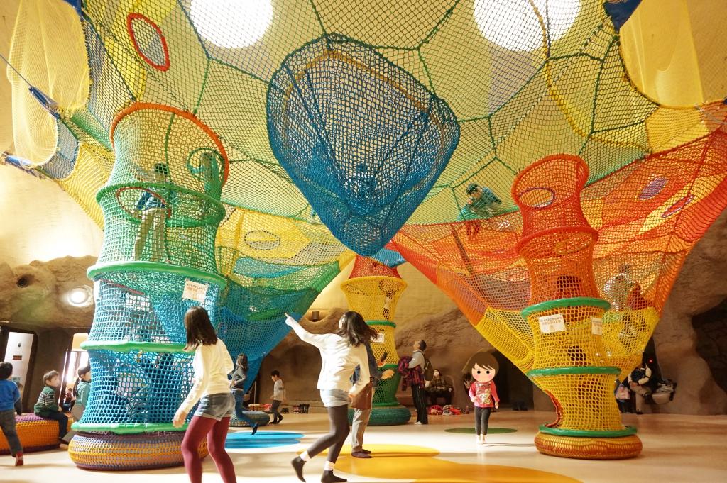 虹の巣ドーム!美しい色彩ですな(゚∀゚)